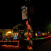 Santa Lightpost #9