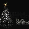 Shiny Christmas tree