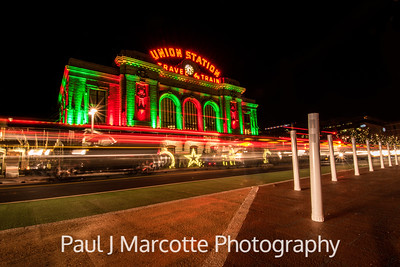 Union station Christmas