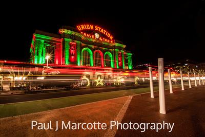 Union station Christmas