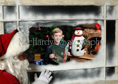 Santa in Window D