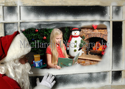 Santa in Window A
