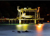 Image Title: Jetty At Night, Flying Fish Cove.  Image No. kee2885b