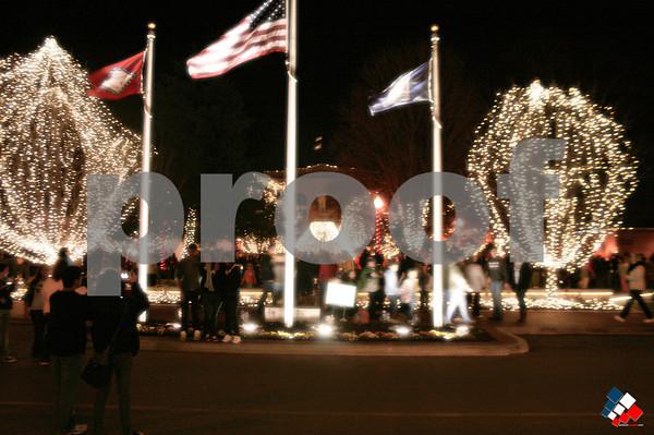 Christmas Lights - Fayetteville & Bentonville