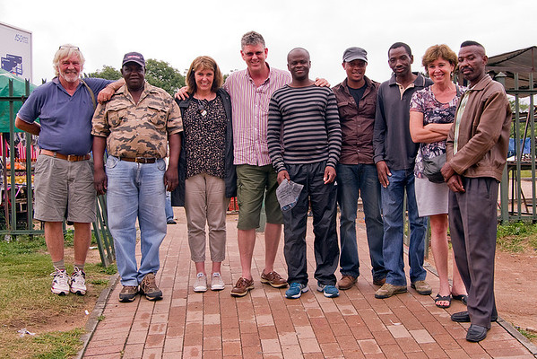 With the Nyathis at Acornhoek (7 Photographs)