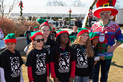 2019 Christmasville in Old Town Rock Hill, South Carolina.