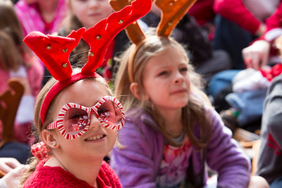 December 03, 2016 Rock Hill, SC Children and adults enjoy Christmasville in Old Town.