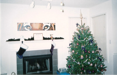Christmas 2000 Kelly's Apartment