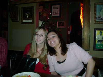Kelly & Elisabeth at Rick's Bar