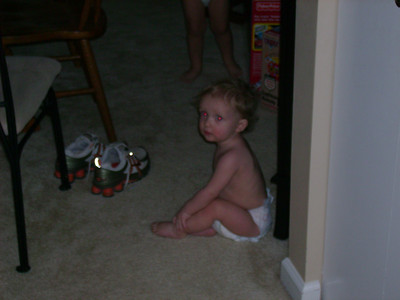 Aiden (following Tate around to the gifts).