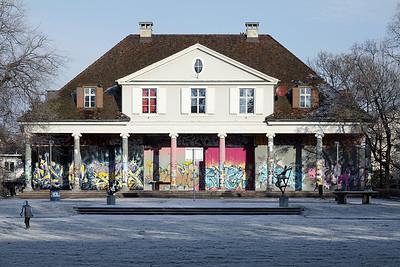Sommercasino, Fassade zum Park, 1822–1824. Foto: Tom Bisig