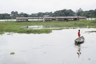 Sif Ul Haque: Floating school, Dakhin Kanarchar