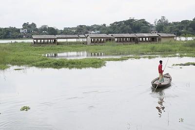Sif Ul Haque: Floating school, Dakhin Kanarchar
