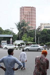 Marina Tabassum: Apartment tower, Dhaka