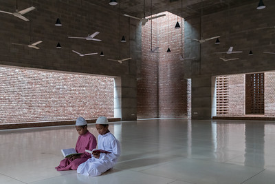 13 BAIT UR ROUF MOSQUE. Architect: Marina Tabassum Architects | Location: Faydabad, Dhaka | Design: 2005 – 2006 | Construction: 2007 – 2012
