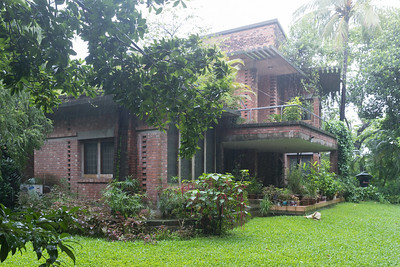 03 OSBAN HOUSE. Architect: ARC Architectural Consultants / Nahas Ahmed Khalil | Location: Chawk Bazar, Chittagong | Design: 2004 – 2006 | Construction: 2005 – 2006