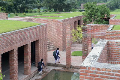 17 FRIENDSHIP CENTRE. Architect: Kashef Chowdhury / URBANA | Location: Gaibandha | Design: 2008 – 2010 | Construction: 2010 – 2011