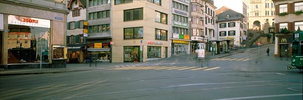 Diener & Diener, Neubau Steinenvorstadt 2 / Kohlenberg 1 Basel, 1995. Photo: Christian Vogt