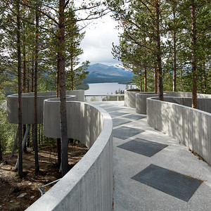 Sohlbergplassen ViewpointCarl-Viggo Hølmebakk AS ArkitektkontorNasjonale Turistveger, Stor-Elvdal, Norwegen | Norway, 2005