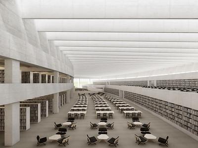 09 Unithèque, Erweiterungsbau des Bibliothèque cantonale et universitaire de Lausanne