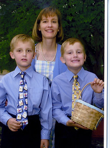 Daniel, Becky & Thomas Matson Easter 2003
