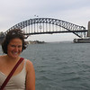 The one and only Sydney Harbor Bridge!  Can you see the people climbing it?