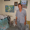 Made in his studio - he showed me around Ubud for a day