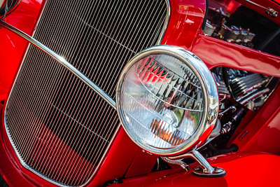 Red Ford Coupe
