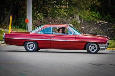 Red Pontiac Ventura