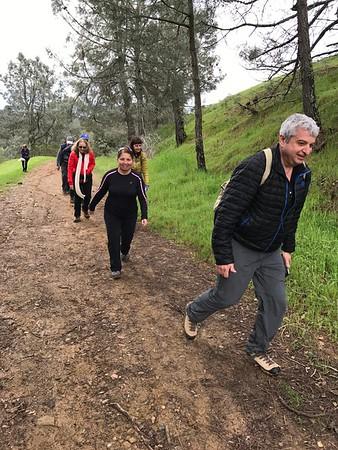 Group Hike. Mt. Diablo. March