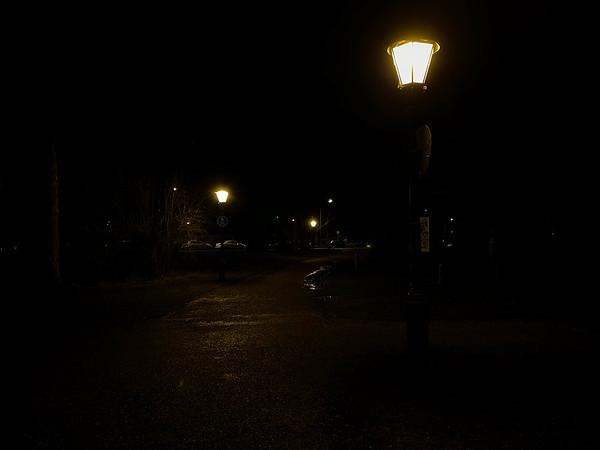 Nacht-Ausgang