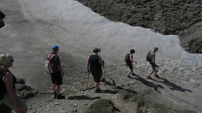 Aelggi Alp - Radiowanderung oder Schneeballett?