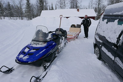 @RobAng 09.03.17, 12:11: Masugnsbyn, Svappavaara, Norrbotten, Schweden (SWE)