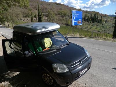 @RobAng 21.09.17, 13:35: Selvole, 563 m, Gaiole In Chianti, Toscana, Italien (ITA)