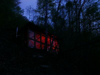 @RobAng 22.04.18, 21:33: Cabanne unter Col de Marty, 978 m, Antras bei Sentein, Occitanie (Pyrenäen), Frankreich (FRA)