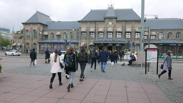 @RobAng 14.09.18, 11:41: Central Station / Hauptbahnhof,  Göteborg - Nordstaden, Västra Götaland, Schweden (SWE), 6 m