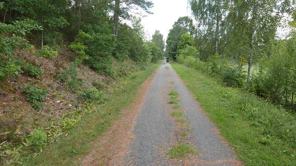 @RobAng 06.09.18, 15:06: Fridafors (auf Banvallsleden / ehemalig Bahntrasse), Svängsta, Blekinge, Schweden (SWE), 53.8595 m