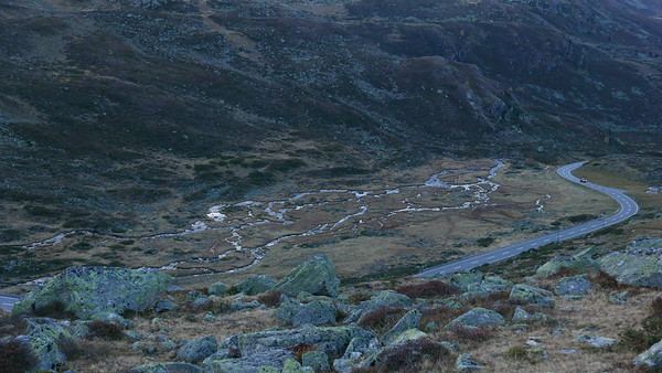 @RobAng 19.10.18, 18:04: Jöriseen ab Flüelapassstrasse, 2267 m, Tschuggen / Davos Dorf, Kanton Graubünden, Schweiz (CHE)