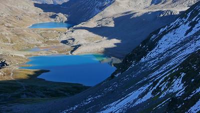 @ 19.10.18, 16:45: Jöriseen ab Flüelapassstrasse, 2714 m, Tschuggen / Davos Dorf, Kanton Graubünden, Schweiz (CHE)