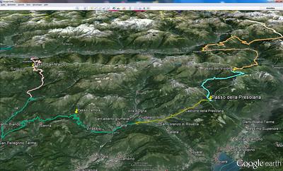 """""""Kletter-Tour"""" in den italienischen Alpen - Übersicht"""