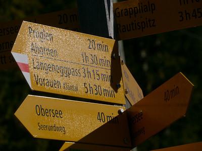 2011/10/18 11:16:18 /  ©RobAng /  Schweiz / Näfels / Obersee (Längeneggpass Nordseite)