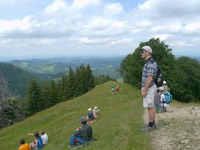 PFINGST-SPAZIERGANG AUFS SCHNEBELHORN: Orüti bei Steg - Tierhag - Schnebelhorn - Orüti. © RobAng 2011. Passhöhe Schnebelhorn, Dreien / Burenboden, Kanton St. Gallen, Schweiz, 1269 mm