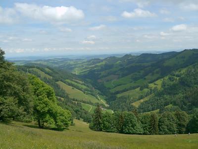 PFINGST-SPAZIERGANG AUFS SCHNEBELHORN: Orüti bei Steg - Tierhag - Schnebelhorn - Orüti. © RobAng 2011. Burenboden, Dreien, Kanton St. Gallen, Schweiz, 1178 mm