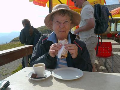 Ausflug mit Nina auf den Chäserugg