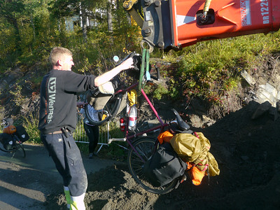 Velotour Lofoten-Vesterålen-Narvik / @RobAng 2012 / Kanebogen, Harstad, Troms, NOR, Norwegen, 6.5m ü/M, 13/09/2012 09:46:06