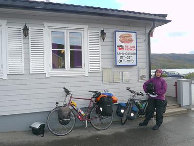 Velotour Lofoten-Vesterålen-Narvik / @RobAng 2012 / Elvegard, Bjerkvik, Nordland, NOR, Norwegen, 18.0773 m ü/M, 14/09/2012 15:19:14