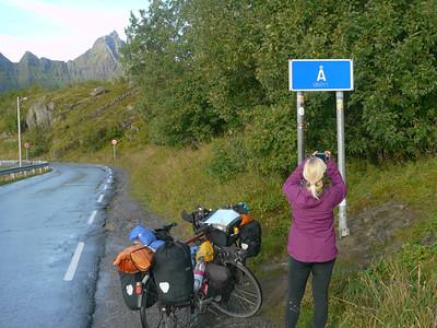 Velotour Lofoten-Vesterålen-Narvik  / @RobAng 2012  / Å i Lofoten, Sørvågen, Nordland, Lofoten, NOR, Norwegen, 2 m ü/M, 09/09/2012 09:30:29