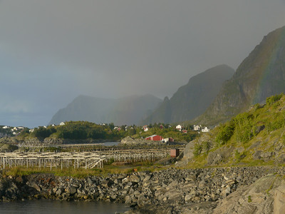 Velotour Lofoten-Vesterålen-Narvik  / @RobAng 2012  / Moskenes, Sørvågen, Nordland, Lofoten, NOR, Norwegen, 2 m ü/M, 09/09/2012 08:09:41, markiert_v1