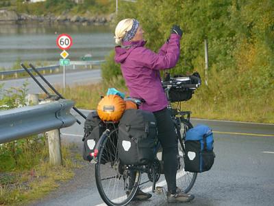Velotour Lofoten-Vesterålen-Narvik  / @RobAng 2012  / Moskenes, Sørvågen, Nordland, Lofoten, NOR, Norwegen, 0 m ü/M, 09/09/2012 09:10:05