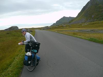 Velotour Lofoten-Vesterålen-Narvik  / @RobAng 2012 / Vikjorda, Kleppstad, Nordland, Lofoten, NOR, Norwegen, 3 m ü/M, 10/09/2012 13:04:39